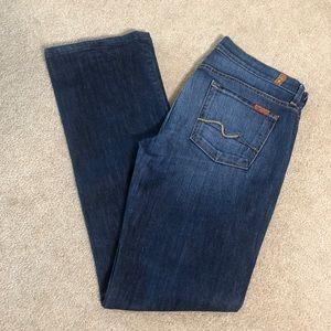 7FAM Bootcut Jeans.